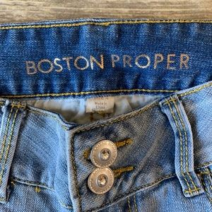 Boston Proper Jeans - Boston Proper women's light blue jeans - size 4